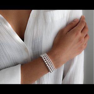 "Tiffany & Co. Jewelry - TIFFANY Monogram ""C"" Round Heart Beaded Bracelet"